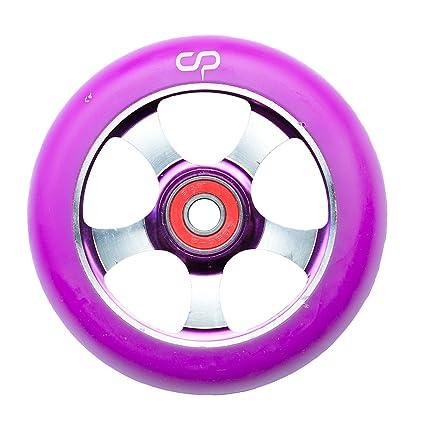Crisp – Rueda para patinete de 100 mm con 5 radios, Purple ...
