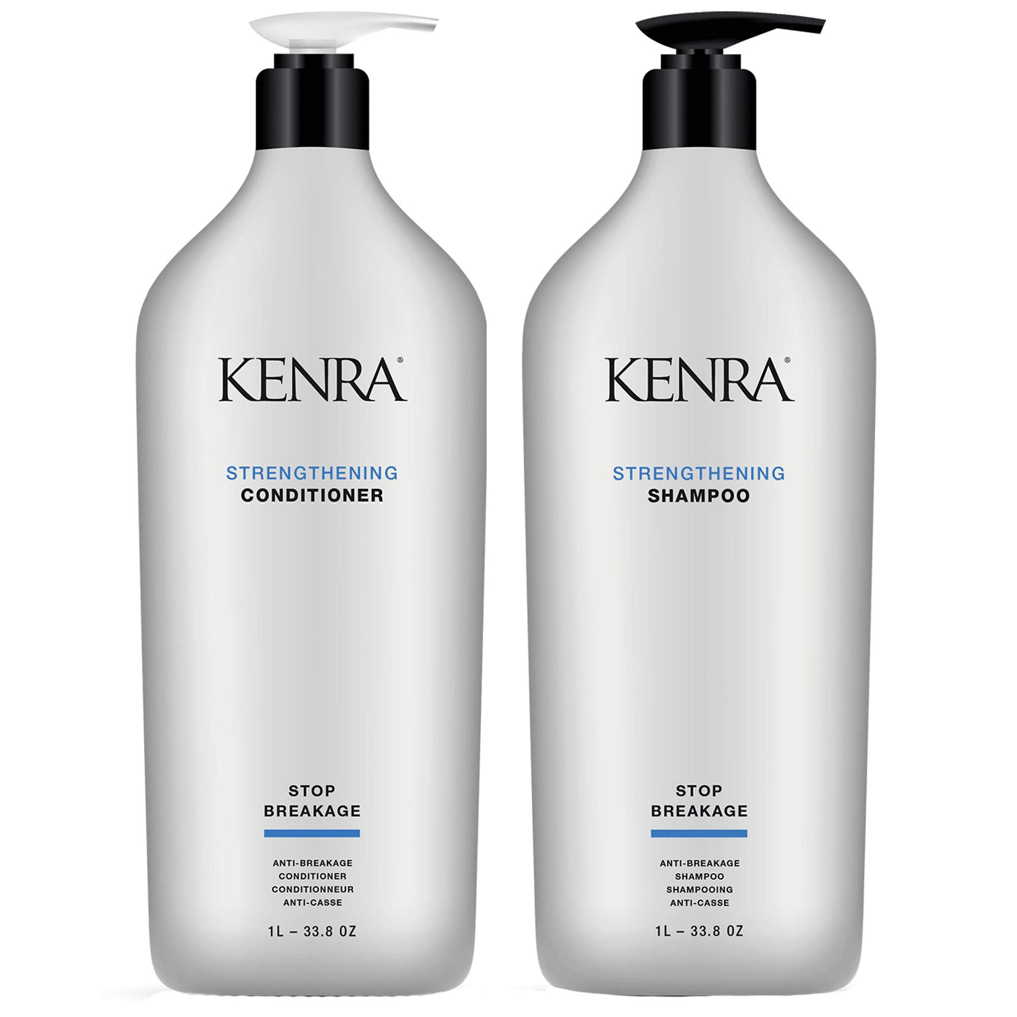 Kenra Strengthening Shampoo Conditioner Liter Duo (33 oz) by Kenra