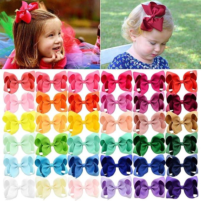 Hair bow for little girlsHair AccessoriesLittle Girls Hair BowsToddler Hair BowsPonytail Bowshair clips for girlsPolka dot Hair Bows
