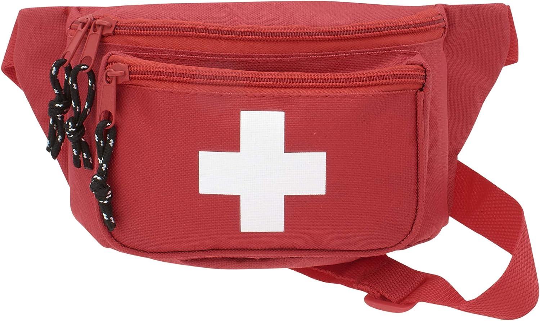 sac de banane durgence m/édicale hanche emballage de m/édicaments organiseur pour voyage sac de sauvetage trousse de premiers secours vide pour la survie pilules Aranticy Sac de secours