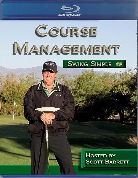Amazon Scott Barrett Course Management Golf Instruction Video