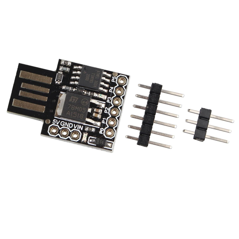 Haljia - Scheda di Sviluppo Micro USB perArduino basato su Attiny85 ADN170512