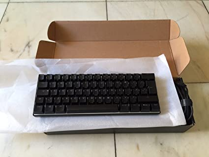 4bb946b4a86 Vortex Pok3r 60% Mechanical Keyboard, Cherry MX Brown: Amazon.co.uk ...