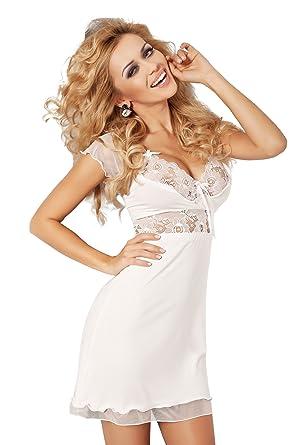 0be1570facaf0b R-Dessous DKaren Damen Nachtwäsche Viskose edles Nachthemd Nachtkleid  Sleepshirt große Größen Pyjama: Amazon.de: Bekleidung