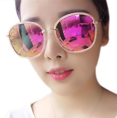 903aef8d678 HCIUUI Sunglasses female tide 2018 South Korea polarized sunglasses round  face retro star with personality driving