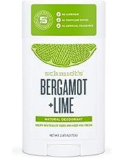Schmidt's Bergamot+lime Deodorant Stick 75 Gr, 75 grams