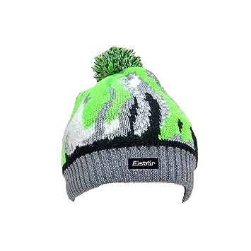 165913815e0 Wake OS Pompon Hat graumele Black White L. Green