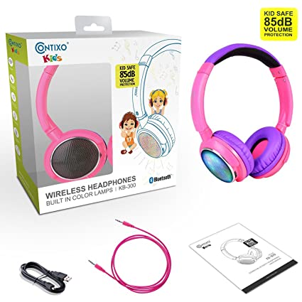 Amazon.com: Contixo KB300 Kid Safe 85dB sobre la oreja ...