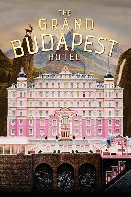 Image result for grand budapest hotel poster