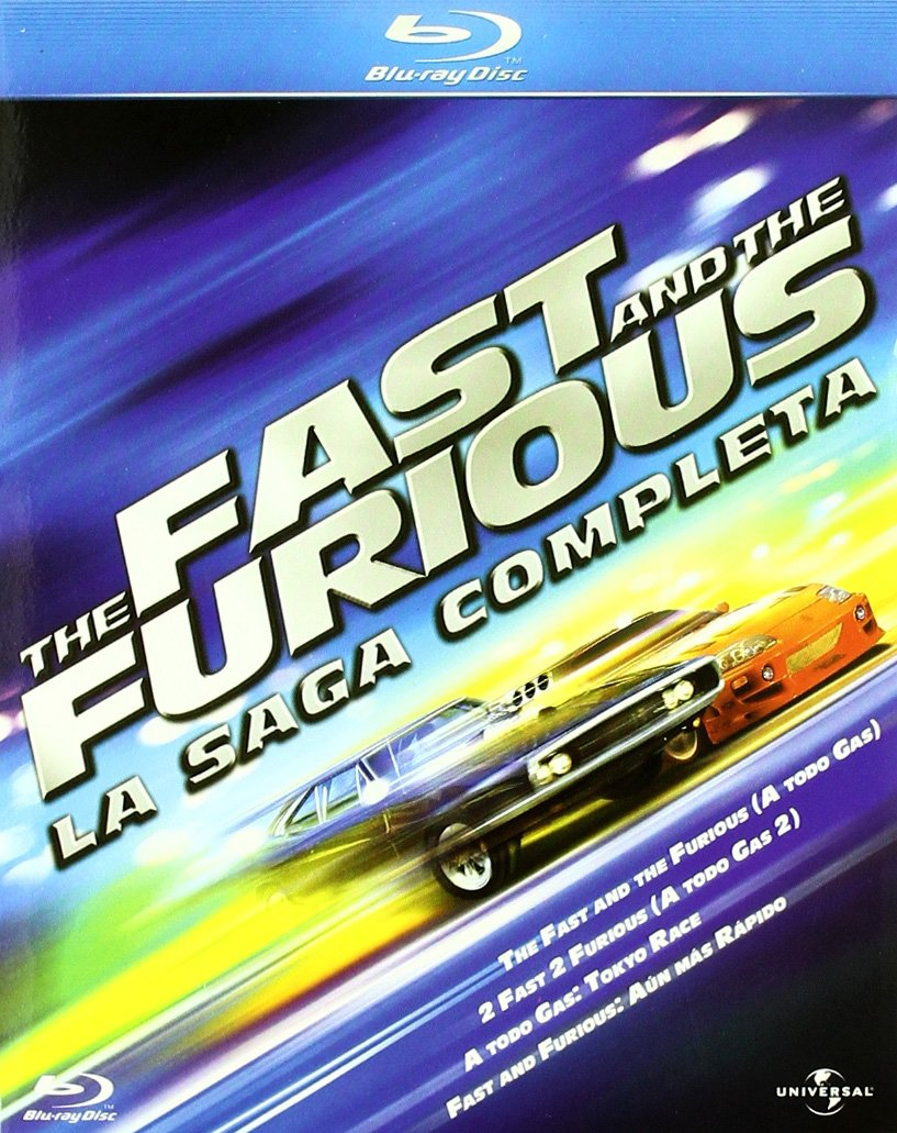 Pack The Fast And The Furious La Saga Completa Movies Tv