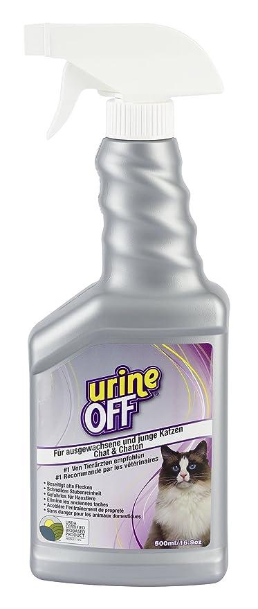 Kerbl 81681 UrineOff Spray Gatos Inodoro y Removedor de manchas de, 500 ml
