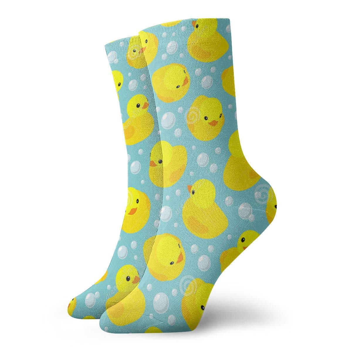 Yellow-rubber-ducks Unisex Funny Casual Crew Socks Athletic Socks For Boys Girls Kids Teenagers