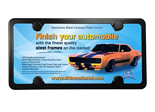 DFDM National License Plate Frame
