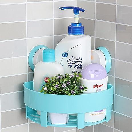 Sucker bathroom shelf/Triangle/Bathroom storage rack/[Wall hanging ...