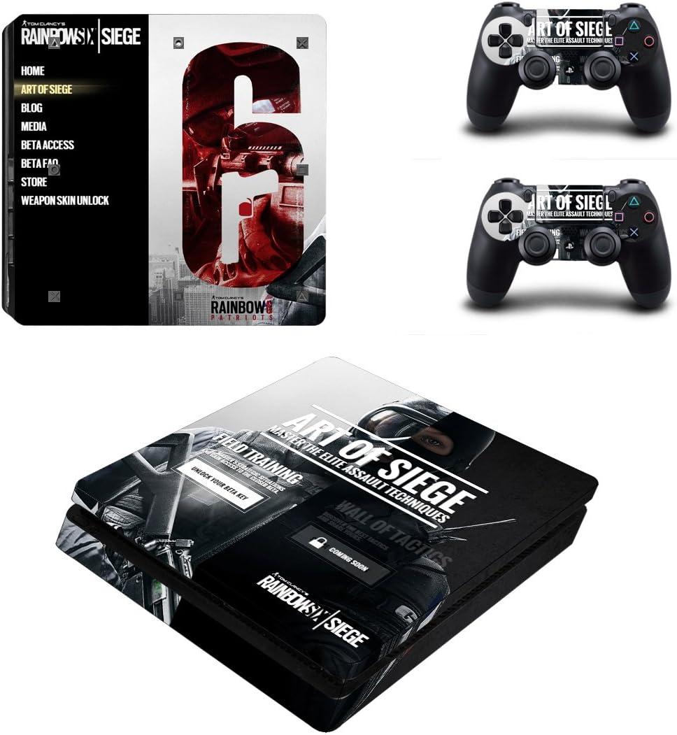 THTB Playstation 4+2 Controller Design Sticker Protector Set: Amazon.es: Electrónica