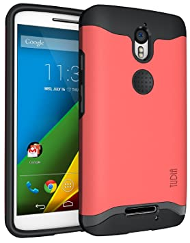 TUDIA Motorola Droid Turbo 2 (Verizon) / Moto X Force Funda, Caja Protectora