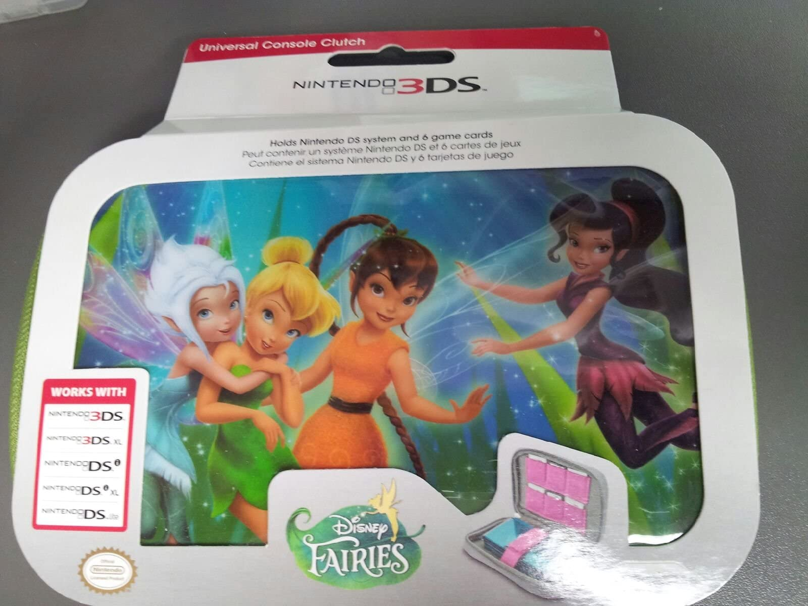 Amazon.com: Universal Console Clutch - Disney Fairies (3DS ...