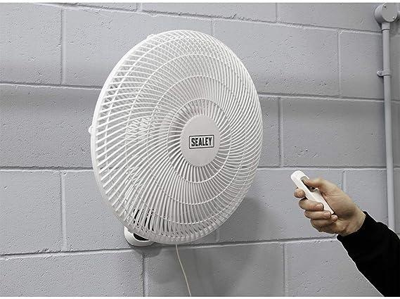 Sealey SWF16WR - Ventilador de pared 230v 3 velocidades de 16 ...