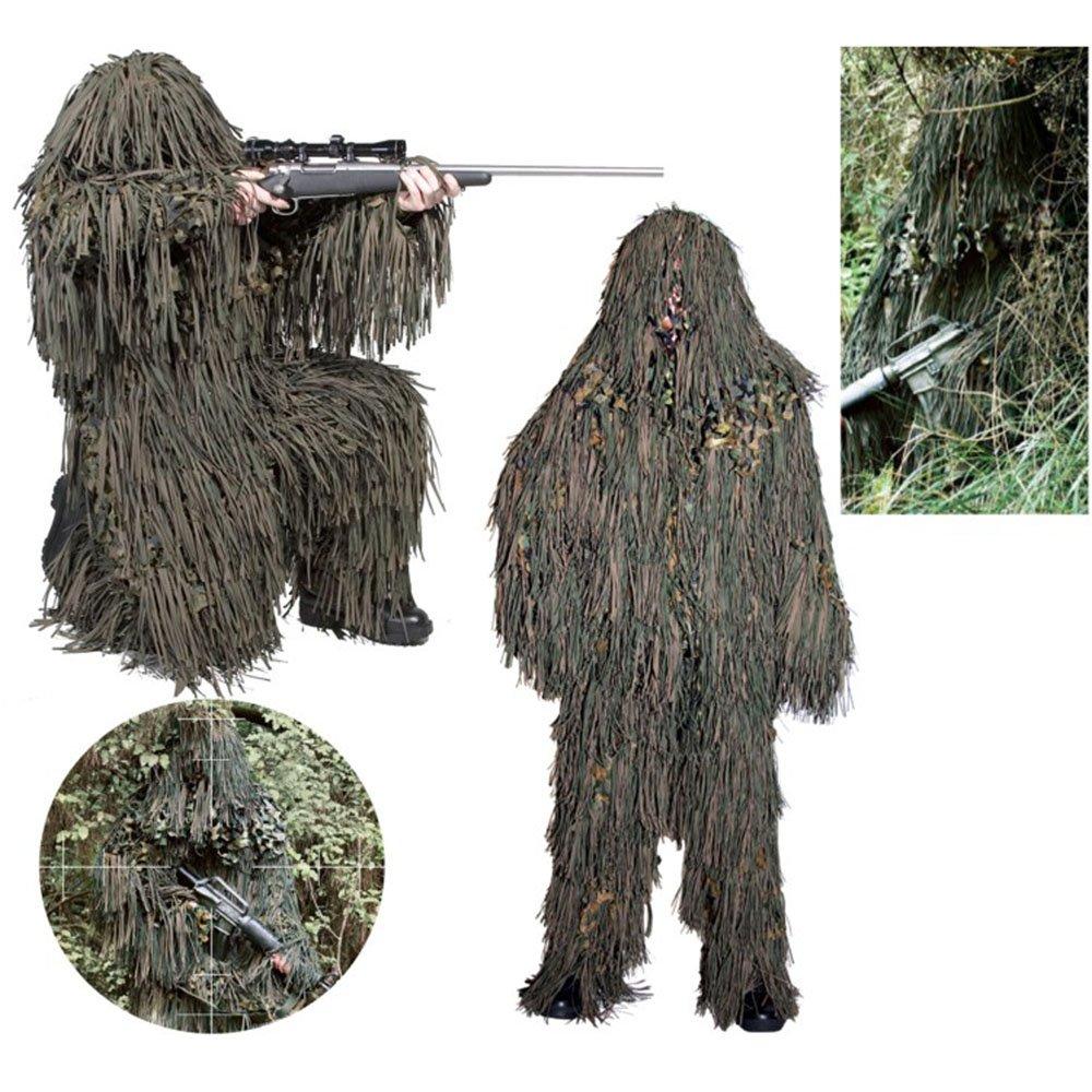 60f19395915 Camosystems Ghillie Suit Jackal Woodland: Amazon.fr: Vêtements et ...