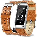 Fuibo Smartwatch, Y2 Farbe Bildschirm Blutdruck / Herzfrequenz Armband Smart Watch Armband Sport | Intelligente Armbanduhr Sport Fitness Tracker Armband