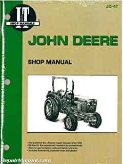 John deere shop manual 850 950 1050 jd 47 penton staff jd 47 john deere 850 950 1050 farm tractor workshop manual fandeluxe Gallery