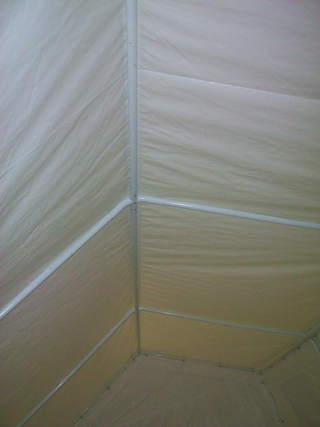 Quictent 3 X 6 meter blanco portátil Carport de garaje carpa: Amazon.es: Jardín