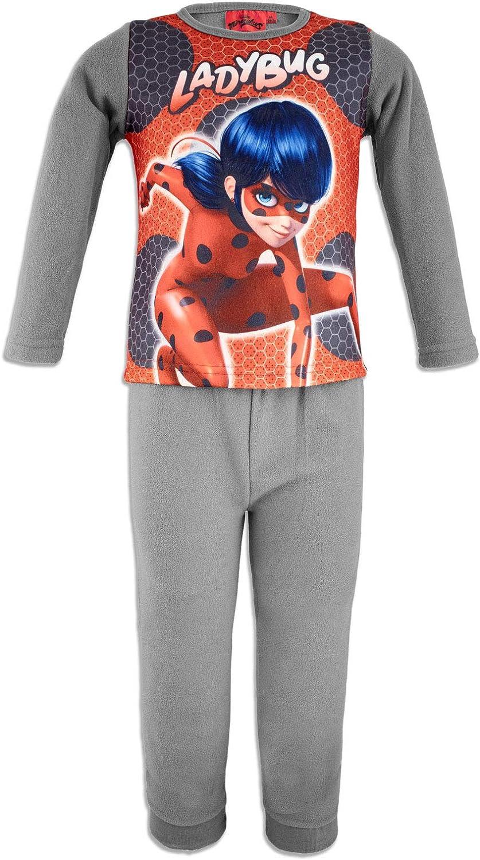 Miraculous Ladybug y Cat Noir – Pijama de forro polar cálido ...