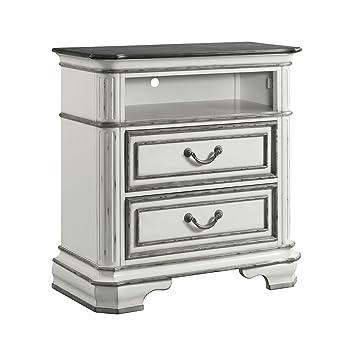 Amazon.com: Piquete casa muebles Caroline 2 cajones pecho de ...