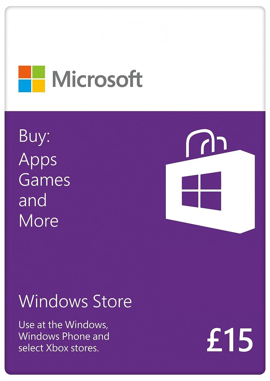 Microsoft £15 Gift Card: Windows Branded [Online Code]
