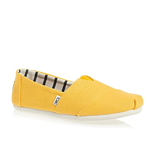 96f2d3ebbba TOMS Men s Classics Lemon Heritage Canvas Slip On Shoes  Amazon.co ...
