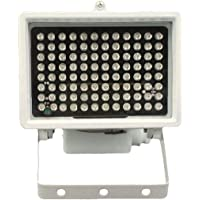 DMetric IR Illuminator, 850nm Infrared 96 LED Night Vision Waterproof Lamp for Indoor Outdoor Security CCTV Camera, Long Range 80m (263 feet) and Standard Angle 45 Degree