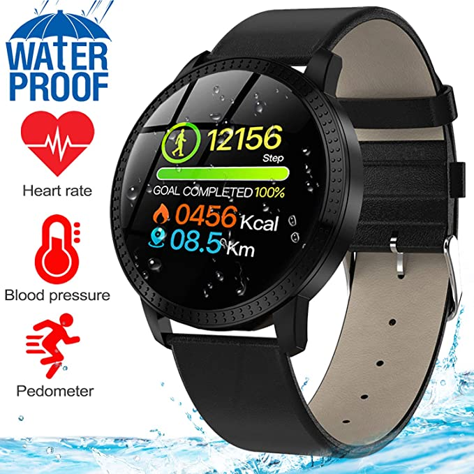 Amazon.com : GBD Smart Watch for Men Women Waterproof IP67 ...