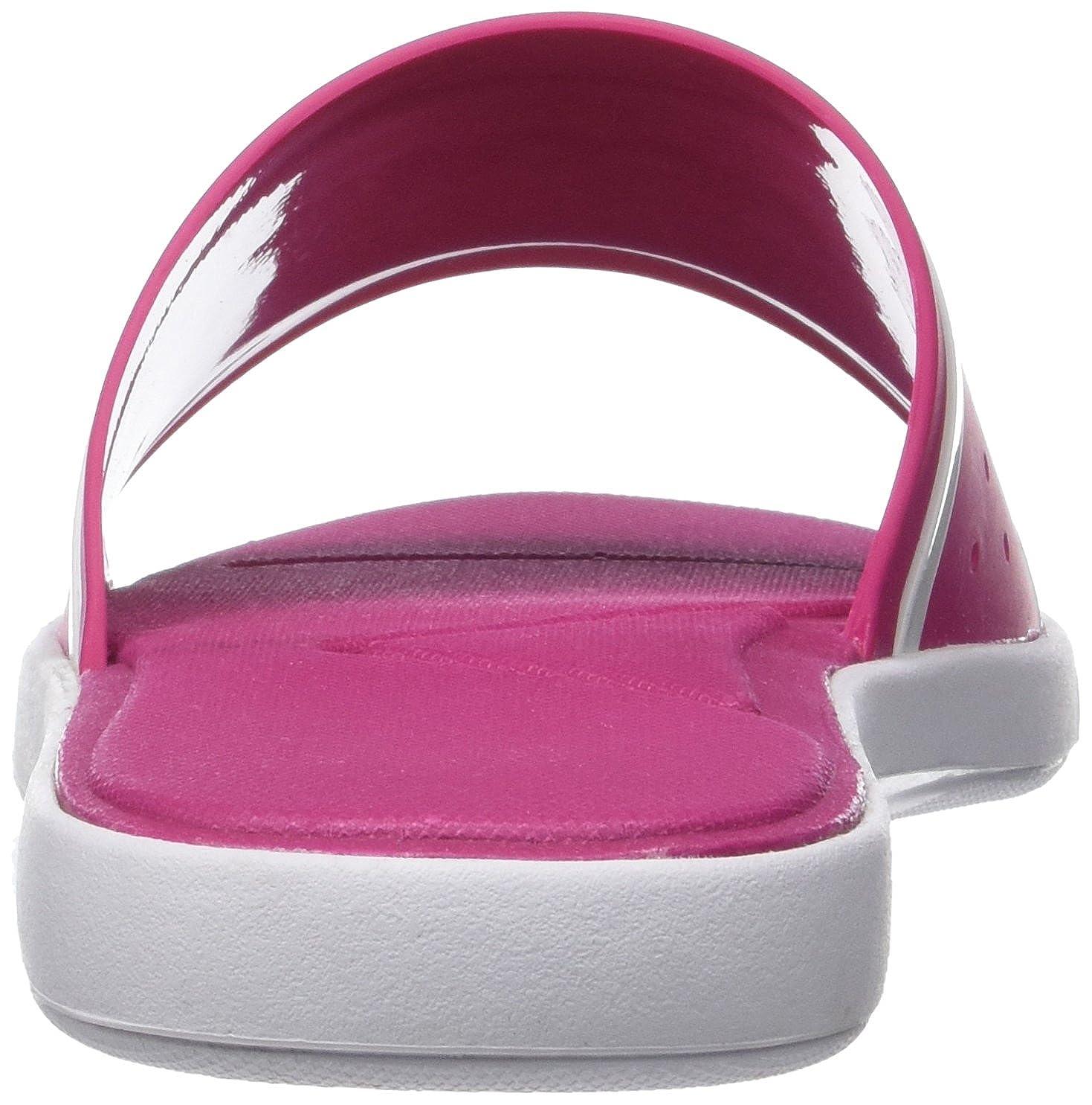Lacoste Damen L.30 Slide 118 2 Caw Zehentrenner, Pink (Fluro PNK/WHT), 37 EU