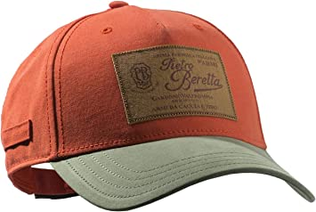 BERETTA Gorra con Logotipo, Color Naranja, tamaño Uni: Amazon ...