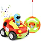 TOY Life Remote Control Car for Toddler Boys - Fast Mini RC Car for Kid - Baby Remote Control Toy - Gifts for 2 3 4 5 Year Old Boy Toddler