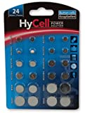 HYCELL Alkaline and Lithium Button/Coin Cell Set