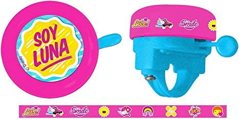 Timbre Ring Ring Niña Infantil Soy Luna a Manillar de Bicicleta 35691 6175: Amazon.es: Deportes y aire libre