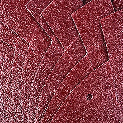 surtidos 40//60//80//120 granos con 2 puntas extra para reemplazo gancho y bucle velcro 40 hojas de papel de lija con detalles de rat/ón