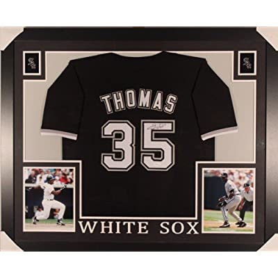 innovative design 396d8 c264a Frank Thomas Autographed Signature Framed White Sox Jersey ...