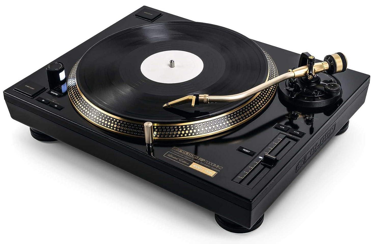 RP-7000 MK2 Gold Tocadiscos Profesional para Clubes de edición ...