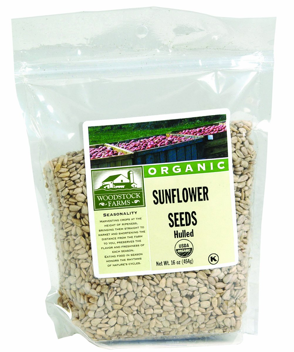 Woodstock Farms Organic Hulled Sunflower Seeds - 16 oz