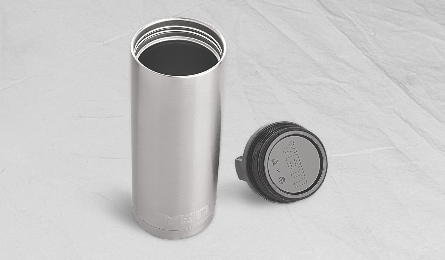 YETI Rambler 18 oz Stainless Steel Vacuum Insulated Bottle with Cap by YETI (Image #4)