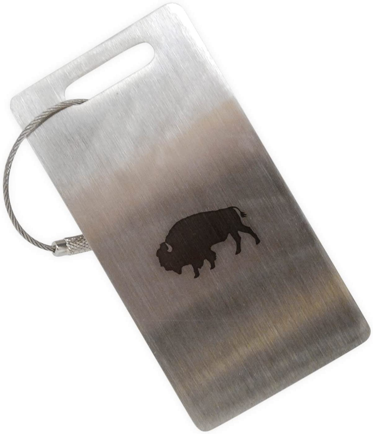 2 Pack Luggage Tags Buffaloes Cruise Luggage Tag For Travel Tags Accessories