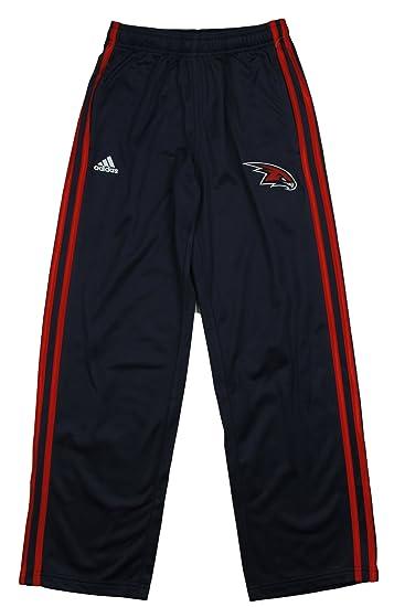 dd2e4b20ccdd Amazon.com  adidas NBA Atlanta Hawks Big Boys Youth (8-20) 3-Stripe Track  Pant