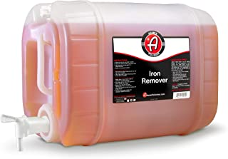 product image for Adam's Iron Remover (5 Gallon Jug) - Fallout Iron Out Rust Stain Remover Spray For Pro Car Detailing | Use Before Car Wash Clay Bar Car Wax Ceramic Coating & Machine Car Buffer Polisher | Auto Paint Motorcycle RV Boat