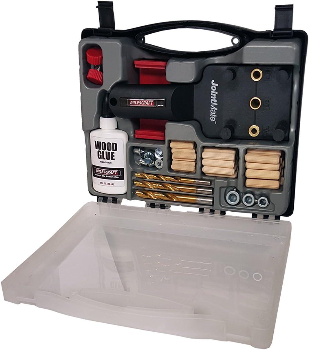 best dowel jig: Milescraft 1309 DowelJigKit - Every woodworker needs this kit