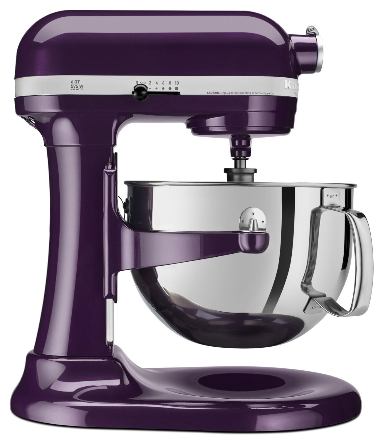 kitchenaid kp26m1qpb professional 600 series 6 quart