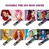 Hair Chalk, ETEREAUTY Hair Chalk 8 Colors Comb