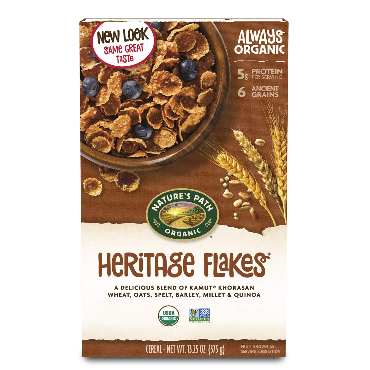 Natures Path Organic Brand new Cold Heritage Flake Ranking TOP19 - 13.25 Ounce 1 Cereal