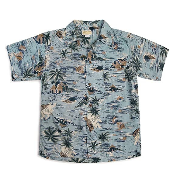 1950s Mens Shirts | Retro Bowling Shirts, Vintage Hawaiian Shirts Bronson 40-50 Aloha Style Hawaiian Shirt $59.99 AT vintagedancer.com